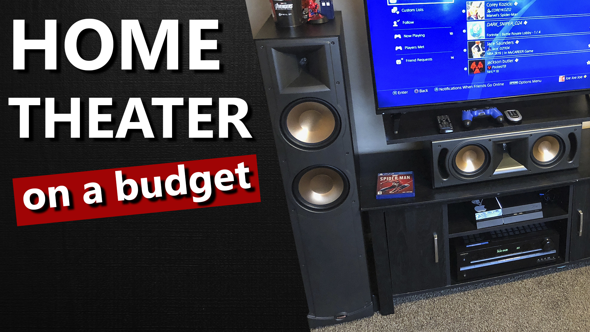 Home Theater on a Budget Thumbnail