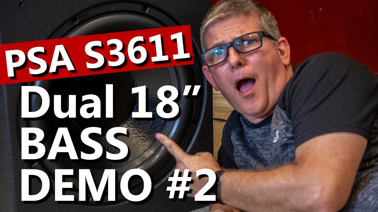 PSA 3611 Subwoofer Demo 2