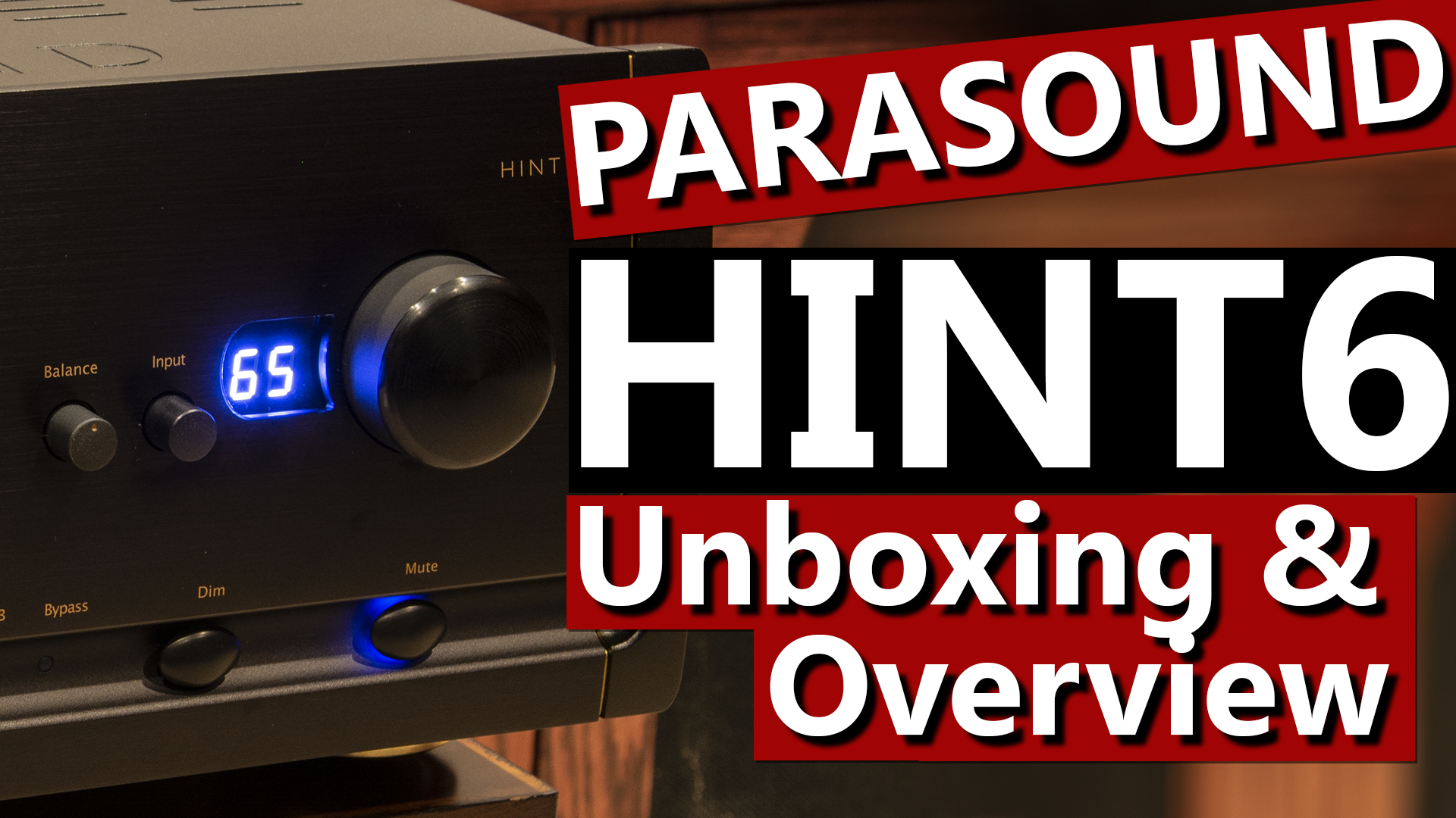 Parasound HINT6 Halo Integrated Amplifier Thumbnail