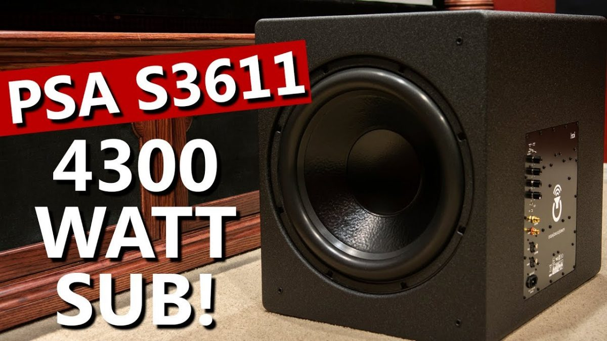 Power Sound Audio S3611 Subwoofer