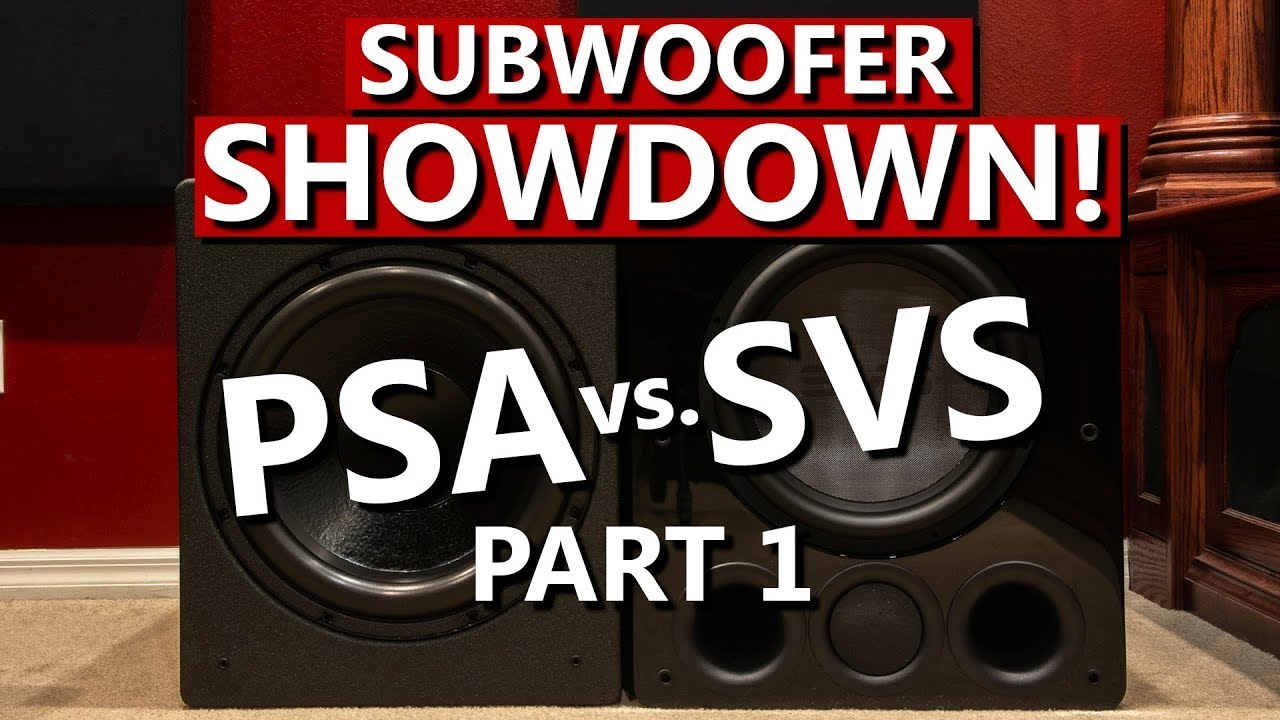 Power Sound Audio S3611 vs SVS PB16 Ultra Subwoofer Showdown Part 1