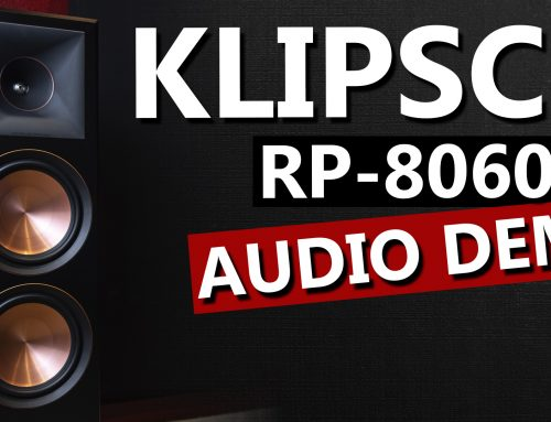 Klipsch RP-8060FA Reference Premiere Speakers with Parasound HINT6 – Audio Demo