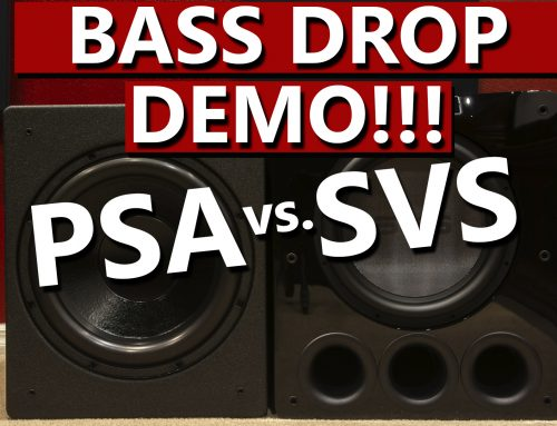 PSA S3611 vs SVS PB16 – Bass Drop Demo