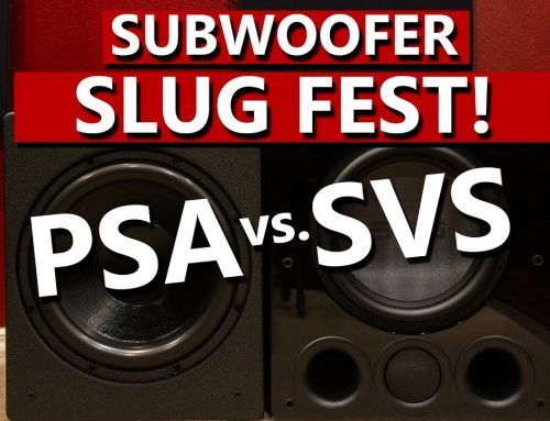 SVS PB16 vs PSA S3611 – Subwoofer Slug Fest