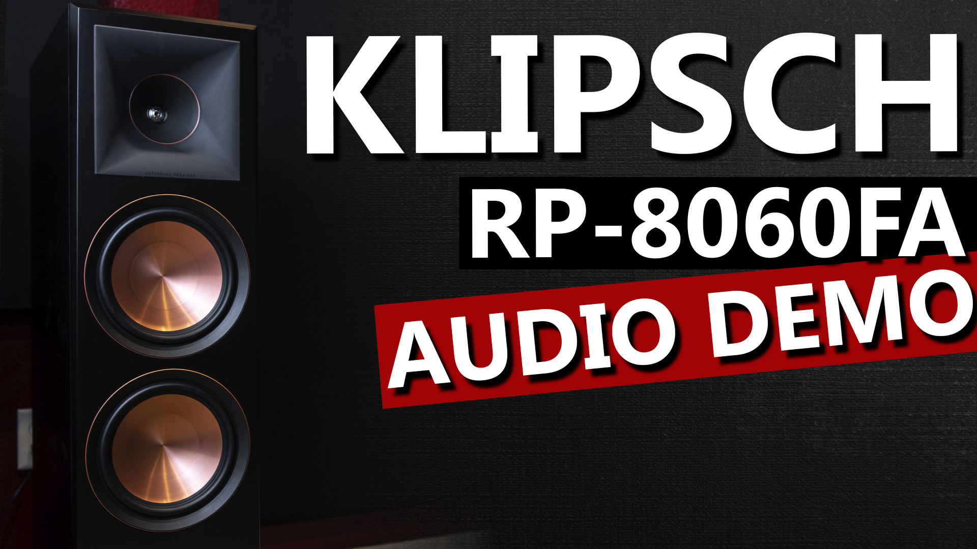 Klipsch RP-8060FA Dolby Atmos Speakers - Audio Demo